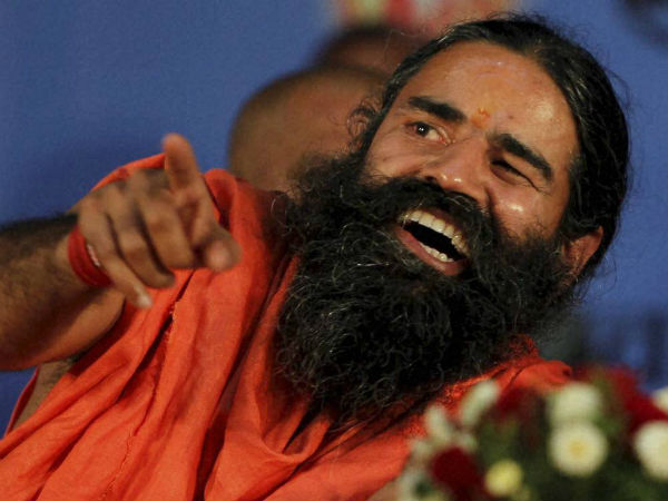 When Baba Ramdev rode water scooter!