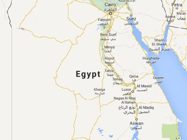 60 injured in train accident in Egypt