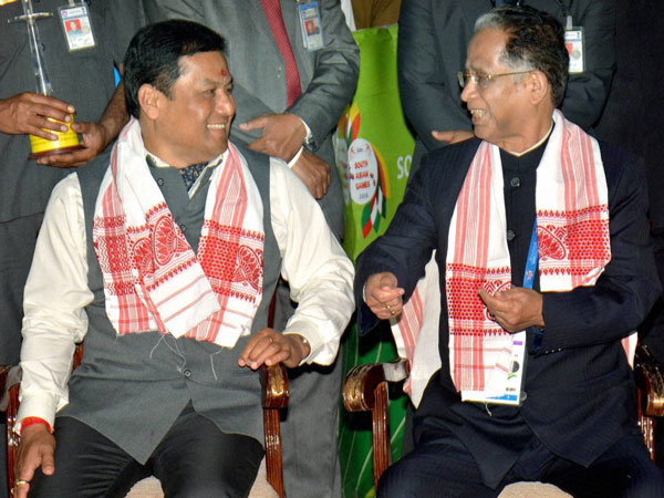 Sarbananda Sonowal and Tarun Gogoi