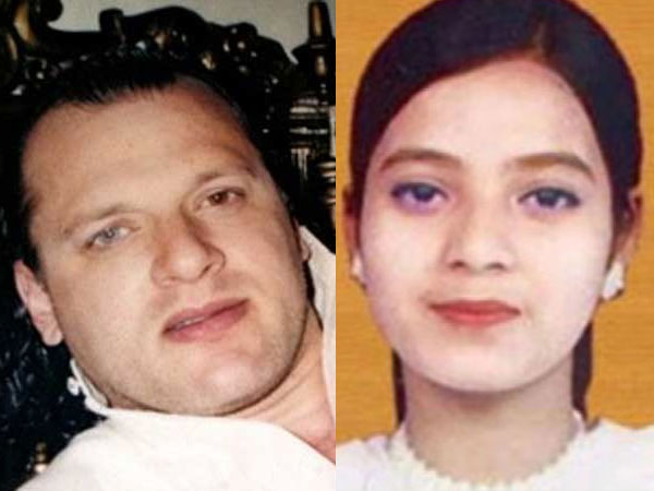 David Headley & Ishrat Jahan