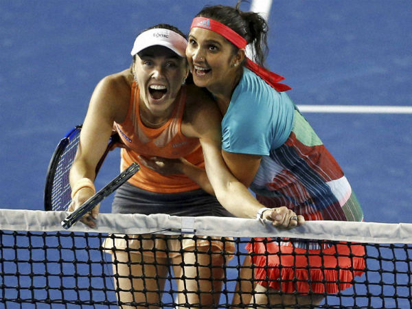 File picture: Martina (left) and Sania