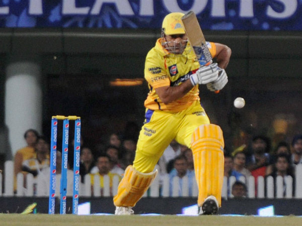 File photo: Dhoni batting for CSK in IPL