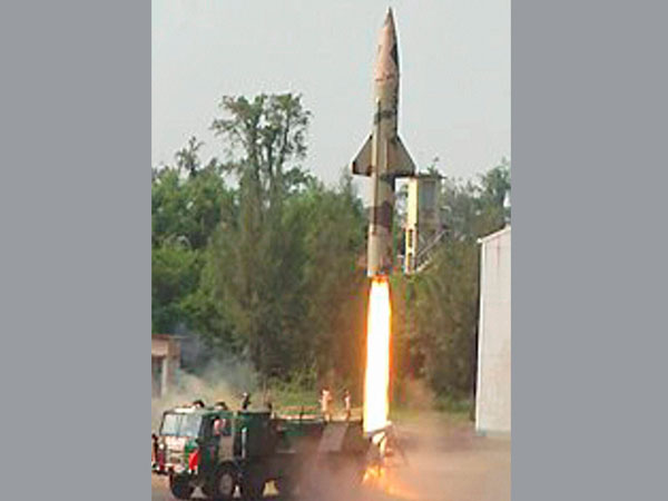 Prithvi-II missile test fired