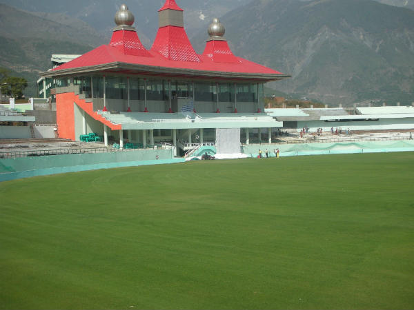 A file picture of HPCA Stadium in Dharamsala