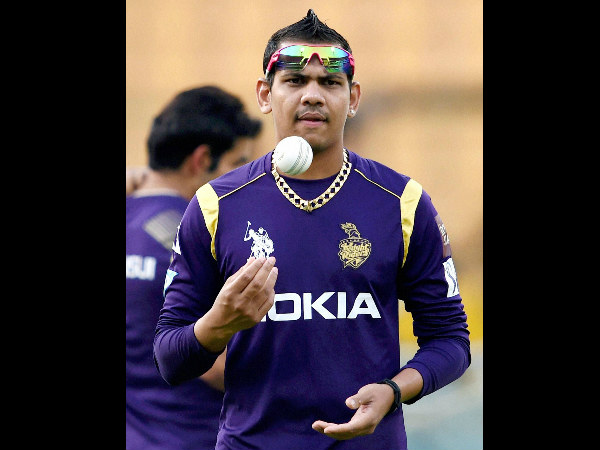 A file picture of Sunil Narine