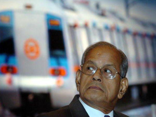 Not right time for bullet train in country: E Sreedharan