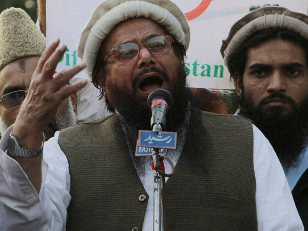 Mumbai terror attack mastermind Hafiz Saeed. File photo