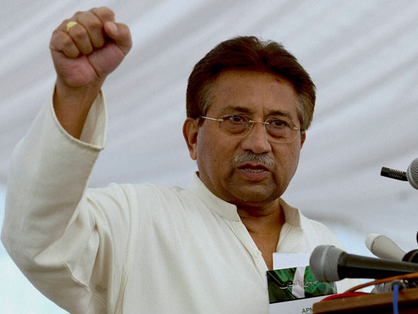 Arrest warrant against Musharraf