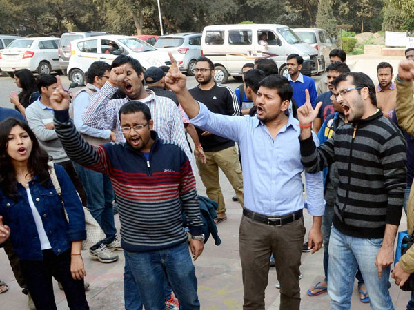 JNU row:Jamia students spotted in video?