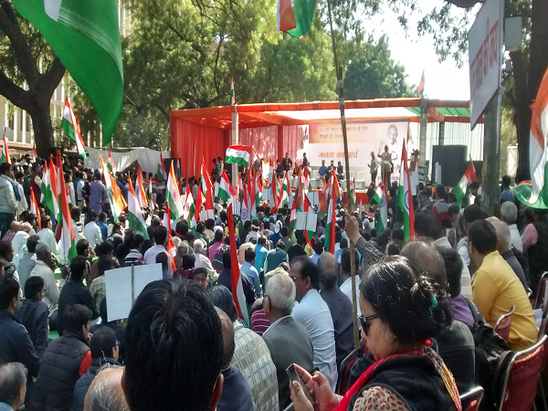 Protest against 'Breaking India'