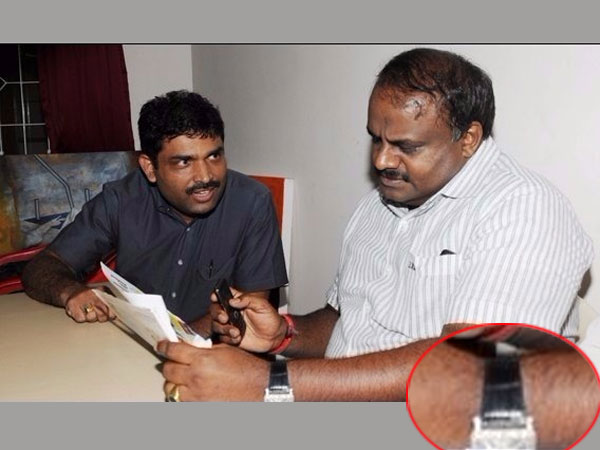 The real picture of Editor-in-Chief of the Daijiworld interviewing former CM H D Kumaraswamy