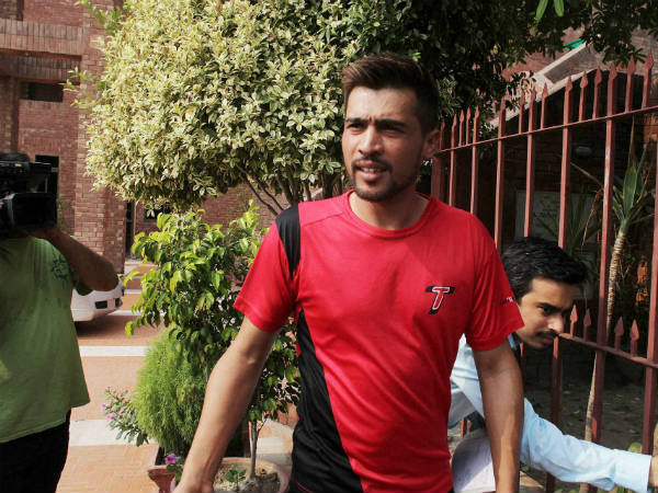 A file picture of Mohammad Aamir