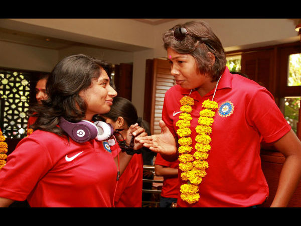 Mitahli Raj, Jhulan Goswami playing their fifth successive women's competition.