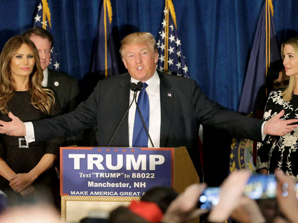 Trump jubilant over Nevada victory