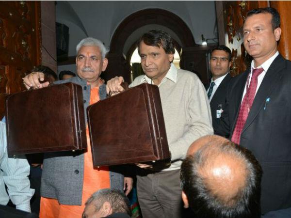 (Suresh Prabhu proposes transformation of Indian Railways through 7 mission mode activities)