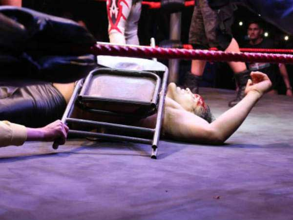 'The Great Khali' injured badly
