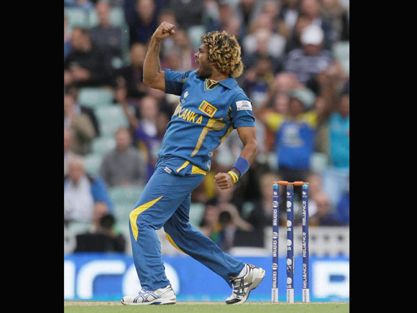 A file picture of Lasith Malinga