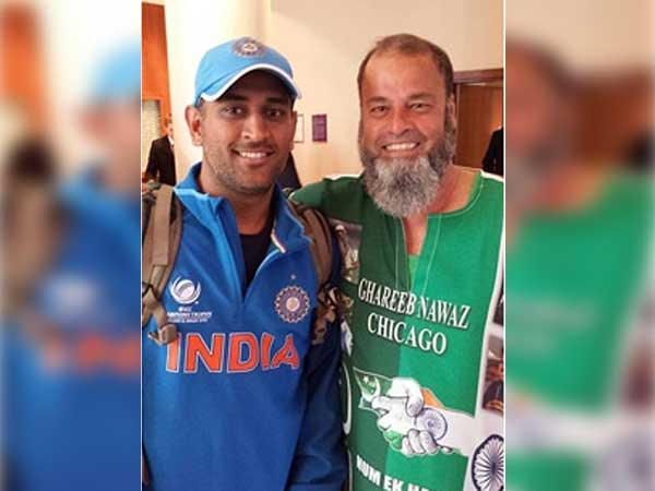 Dhoni gifts Ind-Pak match ticket to fan