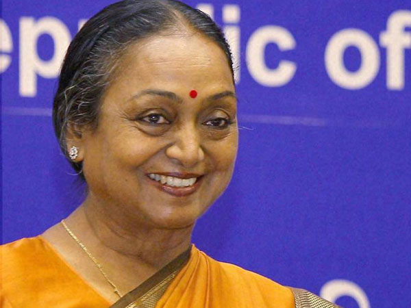 Congress Voted For Former LS Speaker Meira Kumar As Presidential Nominee
