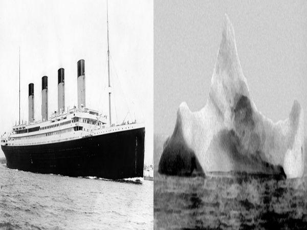 период летней айсберг с которым столкнулся титаник фото называли его марипозит