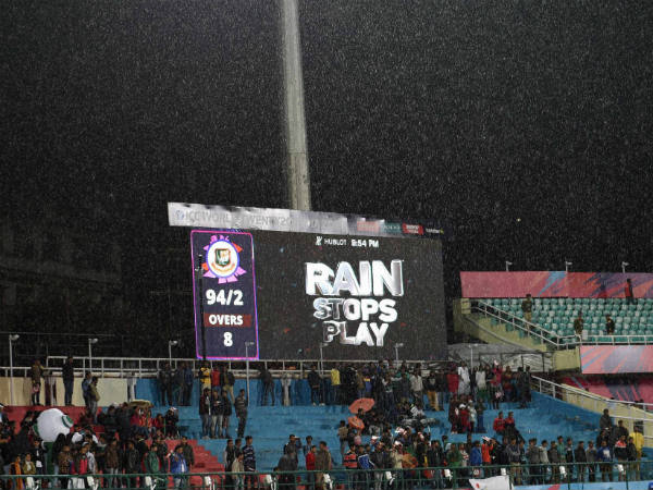 Rain stops play in Bangladesh-Ireland game in Dharamsala