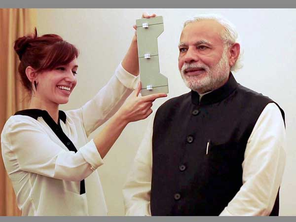 A team from Madame Tussauds visited Modi this year