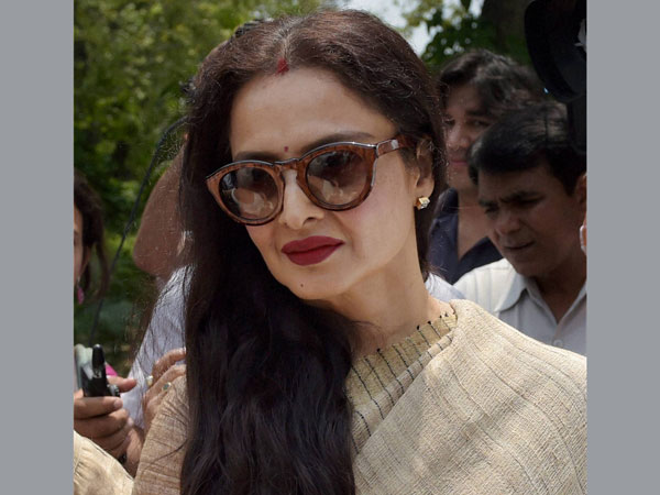 Controversy over Rekha's new house