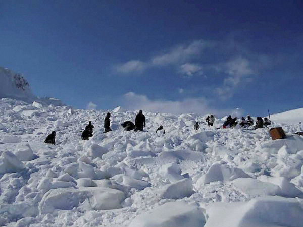 Body of Siachen avalanche victim recovered.