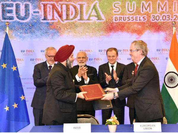 Loan agreement for Lucknow metro signed in Brussels