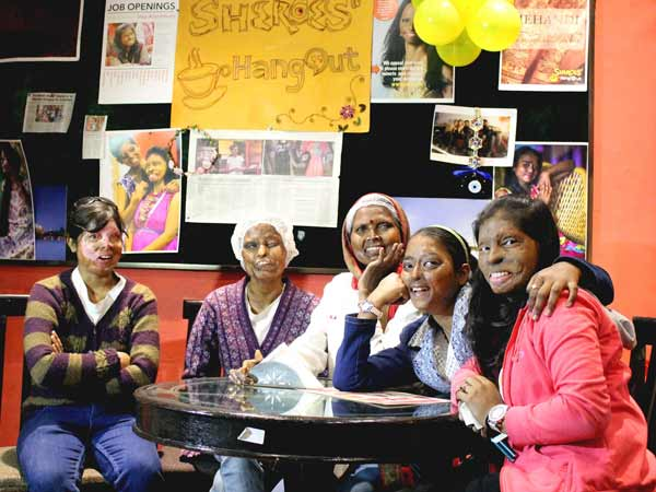 The first branch of Sheroes was opened in Agra in 2014