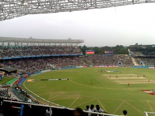 Eden Gardens to turn into fortress
