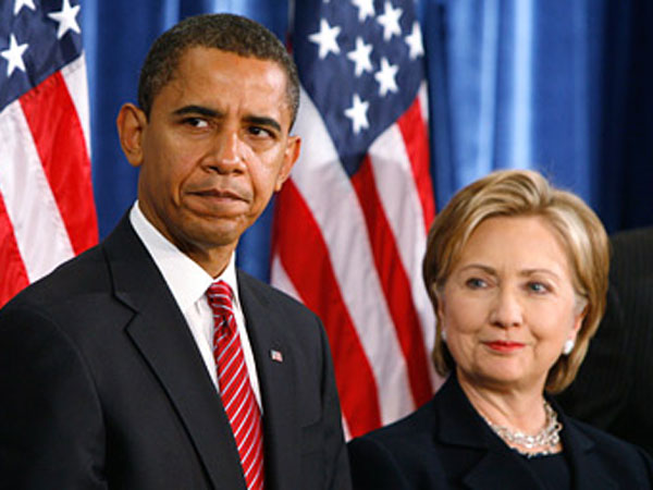 Hillary Clinton backed by Obama?