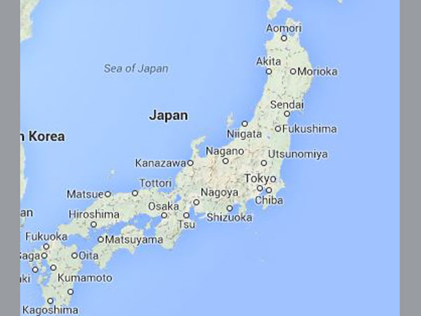 Japan Develops Sensor To Detect Viruses In Five Minutes Oneindia - Japan map 5