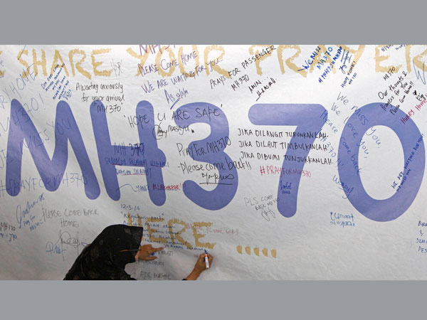 Man searched for missing MH370