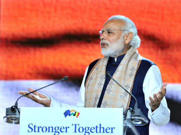 PM Modi addressed Indians in Brussels