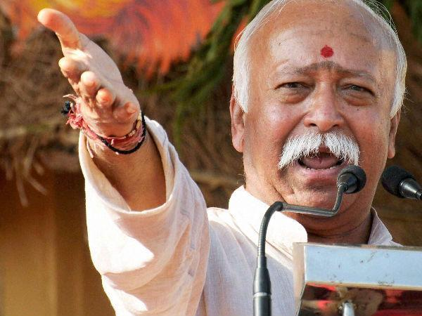 2 held for morphed Mohan Bhagwat image