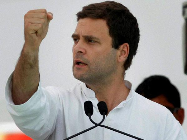 Rahul Gandhi slams Modi Govt on interest cut.