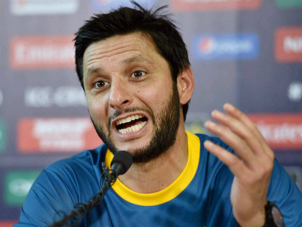 Afridi speaks to the media in Kolkata on Sunday (March 13) ahead of World T20
