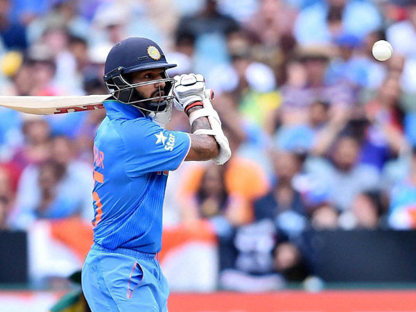 Shikhar Dhawan played a knock of 73 off 53 balls.