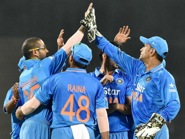 India end league campaign with crushing 9 wicket win over UAE