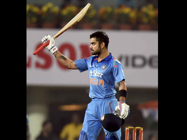 Virat Kohli led the way with a sublime half-century as India defeated Australia by six wickets