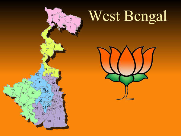 Image result for BJP ELECTION west bengal
