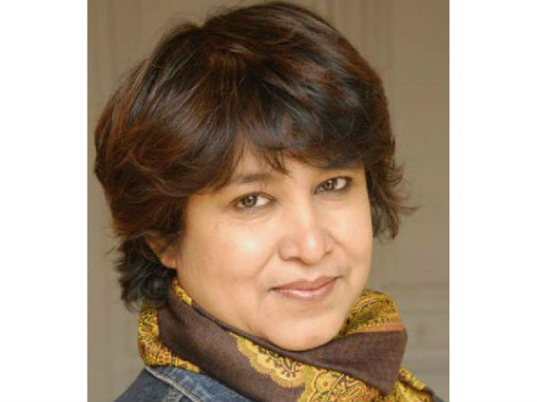 Won't call India intolerant because of few incidents: Taslima.
