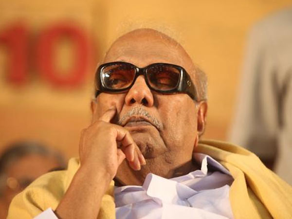 150 silver anklets with Karunanidhi's pic seized from DMK - Oneindia News