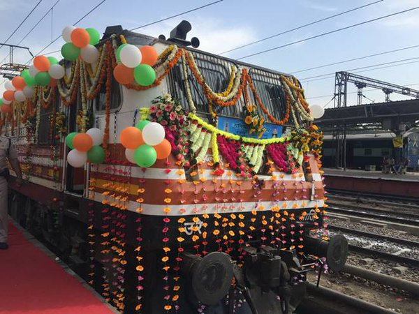 Gatimaan Express flagged off