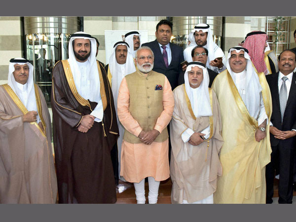 Modi with business leaders