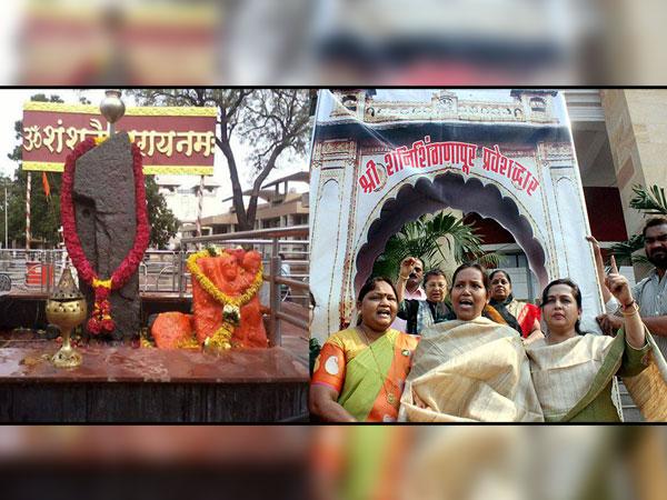100 men stormed into Shani Shingnapur temple