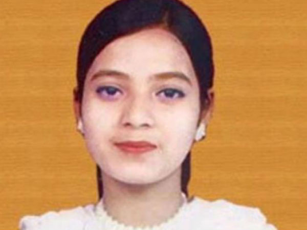 Cong really stood up for Ishrat Jahan?