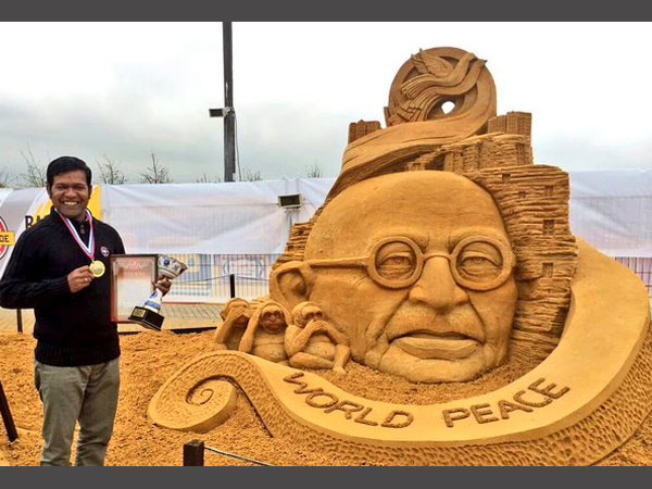 Sudarshan Pattnaik in Moscow