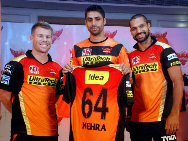 Ashish Nehra out for couple of games: David Warner